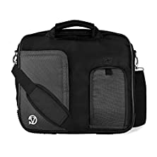 """buy Vg Pindar Edition Messenger Bag Carrying Case (Midnight Black) For Microsoft Surface Rt 2 / Pro 2 10"""" Tablets"""