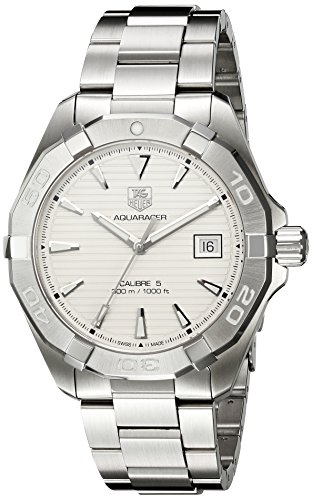TAG-Heuer-Mens-Aquaracer-Swiss-Automatic-Stainless-Steel-Casual-Watch-ColorSilver-Toned-Model-WAY2111BA0928