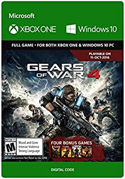 Gears of War 4 for Xbox One & Win 10 PC Download