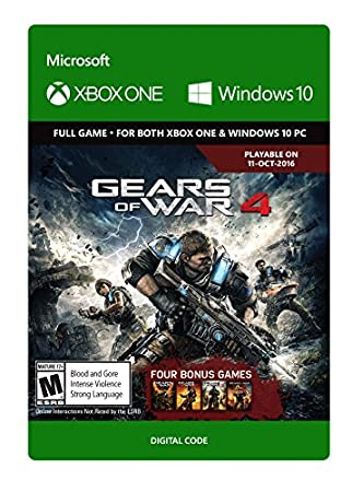 Gears of War 4: Standard Edition - Pre-Load - Xbox One/Windows 10 Digital Code