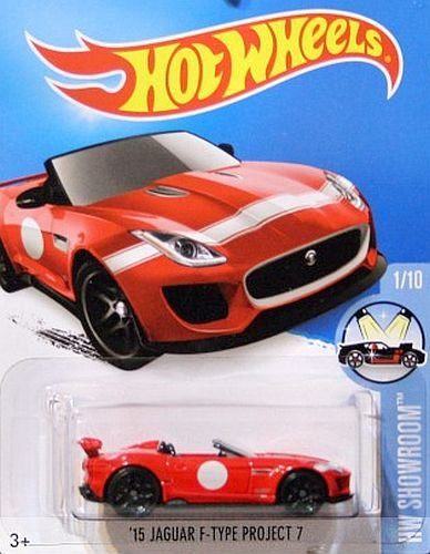 HOT-WHEELS-Jaguar-F-Type-Project-7-164-rot-Edition-2015