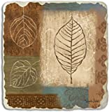 Counter Art Tumbled Tile Coasters, Fall Leaves, Set of 4