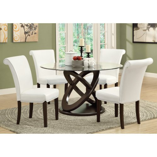 Glass Dining Chairs 8951