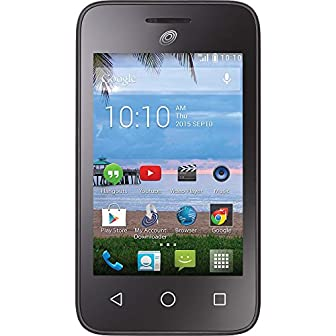 Stay connected with the world using the Tracfone Alcatel Pixie GLITZ A463BG 4G LTE Android. It runs the Android 4.4 (Kit Kat) operating system with 4G LTE capabilities so you can surf the web as well as talk. Wi-Fi capability keeps you connec...