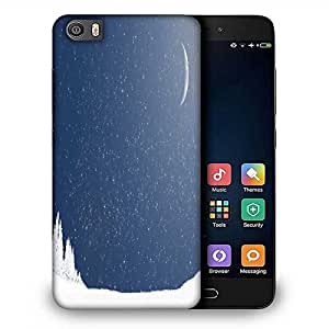 Snoogg Snow Nite Designer Protective Phone Back Case Cover For Samsung Galaxy J1
