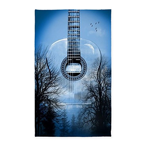 CafePress - Guitar 3'X5' - Decorative Area Rug, 2'x3' or 3'x5' Throw Rug