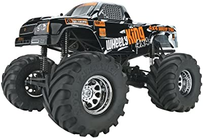HPI Racing 106173 Wheely King 2.4 GHz 4 x 4 RTR Vehicle, 1/12 Scale
