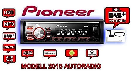 Pioneer mVH - 270DABAN avec dAB antenne de verre)