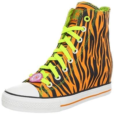 Skechers Women's Gimme Fashion Sneaker,Tiger,5 M US
