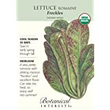Lettuce Romaine Freckles Organic Seed