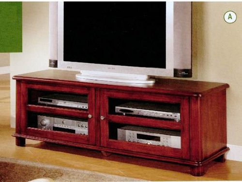 Cheap Coaster 700609 Contemporary TV Stand with Glass Doors, Walnut Finish (B0040I4S5Q)