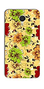 DigiPrints High Quality Printed Designer Soft Silicon Case Cover For Meizu M3 Note