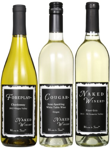 Naked Winery White Hot Trio Mixed Pack, 3 X 750 Ml