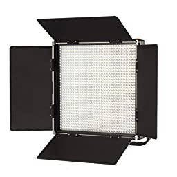ILED-1024 1024AS LED Bi-Color Dimmable Video Light Panel with V-Mount Plate and LCD Touch Screen