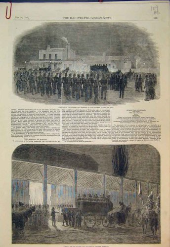 1852 Queen Chelsea Hospital Railway Station Deal Hearse