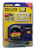 Irwin Industrial Tools 3111001 Carbon Door Lock Installation Kit