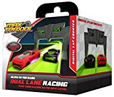 Max Traxxx R/C Tracer Racers High Speed Remote Control Race Track Digital Lap Counter