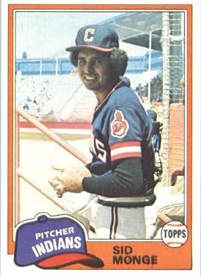 1981 Topps #333 Sid Monge - Cleveland Indians (Baseball Cards)