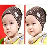 Children Rabbit Cap Grass Pattern Baby Cotton Hat