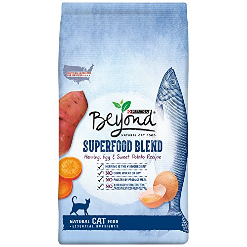 Purina Beyond Superfood Blend Herring, Egg & Sweet Potato Recipe Dry Cat Food