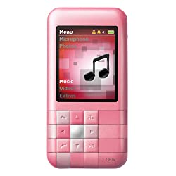 Creative Mozaic LX 4GB (Pink) Refurbished