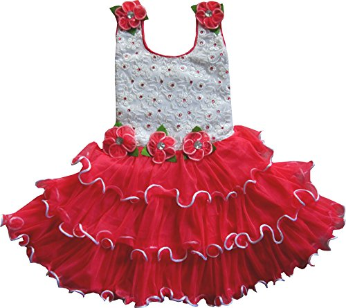 Cute Fashion Kids Girls Baby Princess Party Dresses Skirt Clothes sets 12 - 18 Months