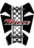 MOTOGRAFIX(モトグラフィックス) タンクパッド TRIUMPH BONNEVILLE THRUXTON ブラック MT-TT007R