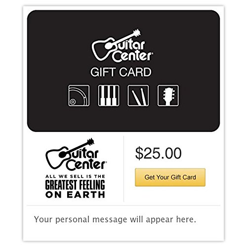 Guitar Center Gift Cards - E-mail Delivery (Amazon Music Card compare prices)