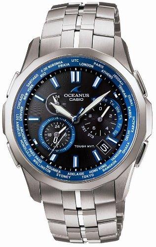 CASIO (カシオ) 腕時計 OCEANUS Manta オシアナス マンタ タフソーラー電波時計 タフムーブメント MULTIBAND 6 マルチバンド 6 OCW-S1400-1AJF メンズ