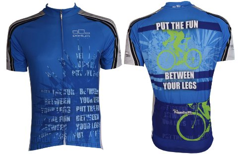 Buy Low Price Put the Fun Between Your Legs Cycling Jersey (B005J6ACH6)