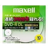 maxell 録画用 CPRM対応 DVD-R DL 215分 8倍速対応 インクジェットプリンタ対応ホワイト(ワイド印刷) 10枚 5mmケース入 DRD215WPB.10S ランキングお取り寄せ