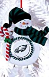 Philadelphia Eagles Jolly Christmas Snowman Ornament Amazon.com