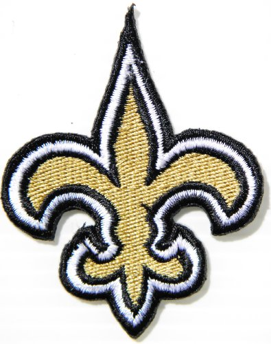New Orleans Saints NFL Jersey Team Logo Football Jacket T shirt Patch Sew Iron on Embroidered Badge Sign at Amazon.com