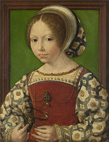 Oil Painting 'Jan Gossaert A Young Princess (Dorothea Of Denmark) ' Printing On Polyster Canvas , 8 X 10 Inch / 20 X 26 Cm ,the Best Home Office Decoration And Home Gallery Art And Gifts Is This Reproductions Art Decorative Canvas Prints
