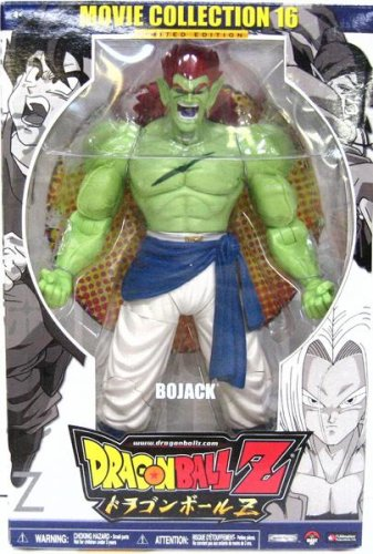 Picture of Jakks Pacific DBZ DragonBall Z Movie Collection 16 BOJACK Action Figure - RARE! dragon ball (B000EUM45K) (Dragon Ball Action Figures)
