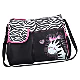 #7: Generic Multifunctional Baby Diaper Nappy Changing Bag Mummy Handbag Zebra Pattern