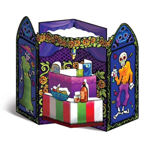 Day Of The Dead Altar Prop Party Accessory (1 count) (1/Pkg)
