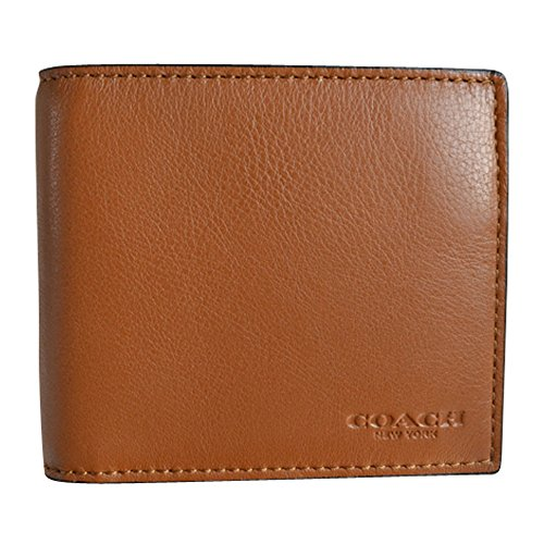 Coach Men's Sport Leather Compact ID