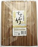 割り箸 すす竹 天削 100膳入り 24cm