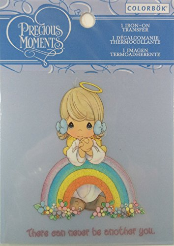 "Colorbok Precious Moments Iron On Transfer ""Rainbow"" - ""There Can Never Be Another You"". front-785071"