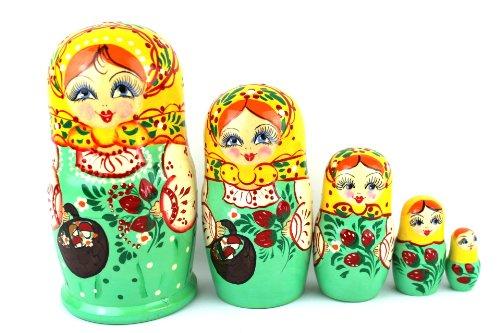 A matriosca Russkaja krasaviza 5-stück032-3