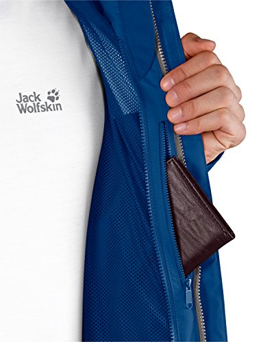 Jack Wolfskin Herren Wetterschutzjacke Laconic Texapore JKT, Classic Blue, XL, 1106431-1127005 -