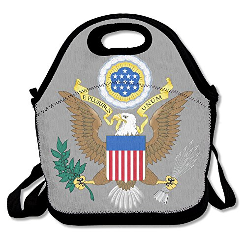 Navis's Great Seal Of The United States Eagle Logo Tote Lunch Tote Lunch Boxes (Nicki Minaj Hot Pics compare prices)