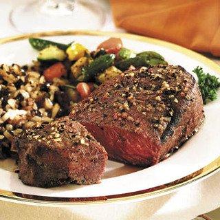 Yak Chuck Tender 8 oz. Steak (12 count ) 6 lb. Package