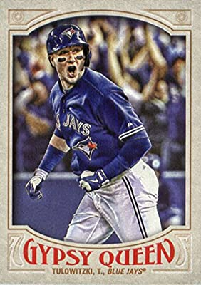 2016 Topps Gypsy Queen #164 Troy Tulowitzki Toronto Blue Jays Baseball Card
