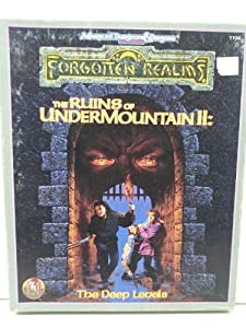 The Ruins of Undermountain II: The Deep Levels (Forgotten Realms Campaign Adventure) by Donald Bingle, Jean Rabe and Norm Ritchie