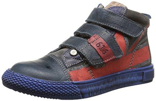 Ikks - Jeff, Sneakers per bambini e ragazzi, blu (ctv marine/gris dpf/tavolo), 34