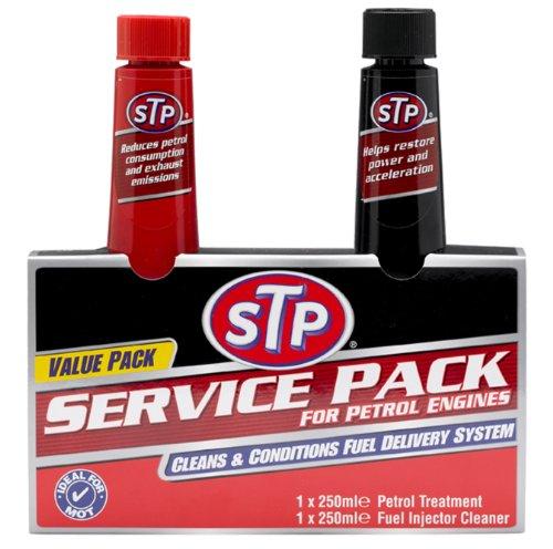 STP 99100EN 250ml Service Pack for Petrol Engines (Pack of 2)