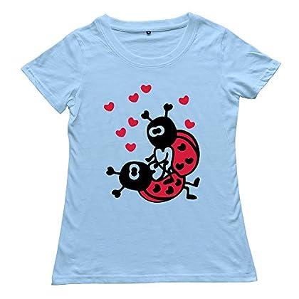 Ladybugs Love T-Shirts Custom Make Cool Tee For Women promo code 2015