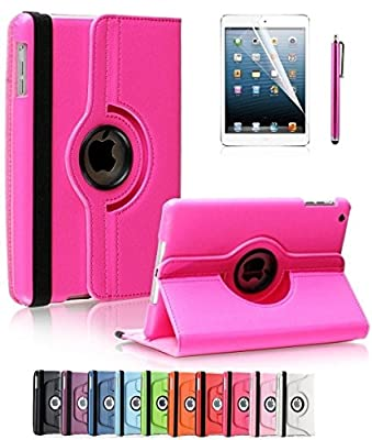 Apple iPad 2/3/4 Case, CINEYO(TM) 360 Degree Rotating Stand Case Cover with Auto Sleep / Wake Feature for iPad 2/3/4(10 Colors)this case is for Apple iPad 2 3 4 by CINEYO
